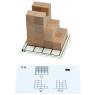 [Șabloane de lucru  pentru cuburi din  lemn multifuncționale - Setul 2]