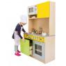 [Bucătărie elegantă DUO - Verde-galbenă]