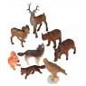 [Animale din plastic - În pădure - 8 buc]