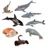 [Animale din plastic - În mare - 8 bucăți]