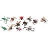 [Animale din plastic - Insecte - 12 buc]