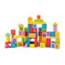 [Cuburi cu litere și cifre în culori pastelate]