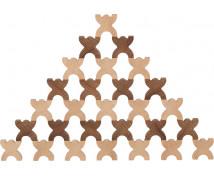 [Nature figurine din lemn X, 48 buc]