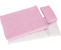 [Accesorii pentru pat păpuși - Cuburi roz]
