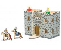 [Castel cu figurine care se închide]
