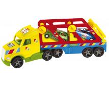 [Super camion cu mașinuțe]