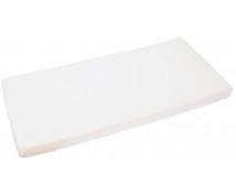 [Cearceaf cu elastic, frotir, 140 x 70 cm-alb]