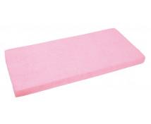 [Cearceaf cu elastic, frotir, 140 x 70 cm-roz]