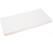 [Cearceaf cu elastic, frotir, 120 x 60 cm-alb]