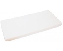 [Cearceaf impermeabil cu elastic, frotir, 120 x 60 cm-alb]