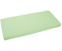 [Cearceaf impermeabil cu elastic, frotir, 120 x 60 cm-verde]