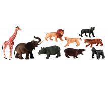 [Animale din plastic - Africa - 9 buc.]