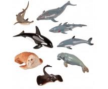 [Animale din plastic - În mare - 8 buc]