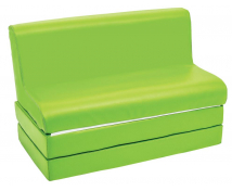 [Canapea extensibilă SOFT-verde]
