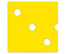 [ Ușă Numeric 3 - galben]