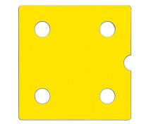 [ Ușă Numeric 4 - galben ]
