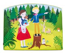 [Aplicație de spumă - Hansel și Gretel - Mare (116,5 x 93 x 5 cm)]