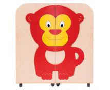 [Bibliotecă / Cărucior 2 în 1 Arțar-Maimuță]