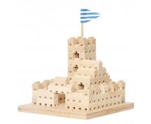 [Set de construcție din lemn BUKO - 3 în 1 ]