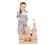[Set de construcție din lemn BUKO - Castel mare]
