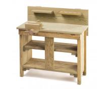 [Masă de lucru din lemn]
