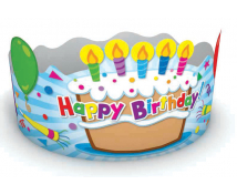 [Coroană de hârtie  - Happy Birthday]