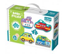 [Baby puzzle-Mijloace de transport (1+)]