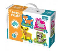 [Baby puzzle- Animăluțe din pădure (2+)]