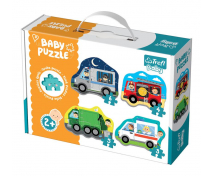 [Baby puzzle- Vehicule de intervenție (2+)]