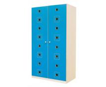 [Uși 8 - MDF - pătrat - albastru]