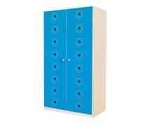 [Uși 8 - MDF - flori - albastru]