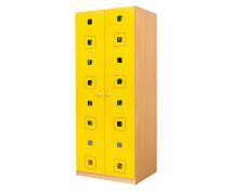 [Uși 6 - MDF - pătrat - galben]