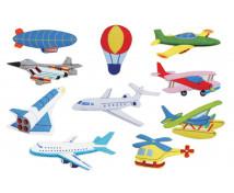 """[Motive din pâslă - Transport aerian """"S"""" - 10 bucăți la set]"""