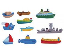 """[Motive din pâslă - Transport maritim""""S"""" - 10 bucăți la set]"""