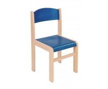[Scaun din lemn Arțar-26-albastru]