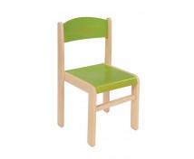 [Scaun din lemn Arțar-26-verde]