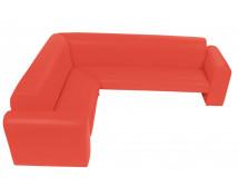 """[Canapea de colț """"Exclusive""""-roșu]"""
