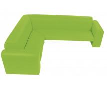 """[Canapea de colț """"Exclusive"""" - verde]"""