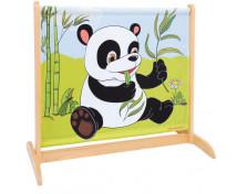 [Paravan micuț cu animale-Panda / Rinocer]