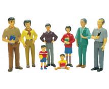 [Cunoașteți națiunile - Figurine - Asiatici]