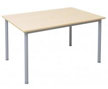 [Masă de birou cu picioare din metal, 140 x 80 cm]