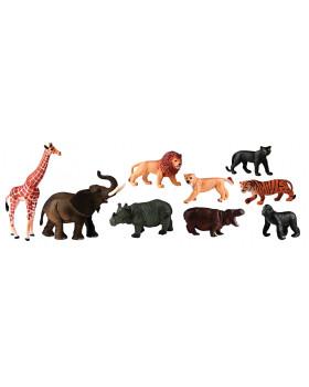 Animale din plastic - Africa - 9 buc.