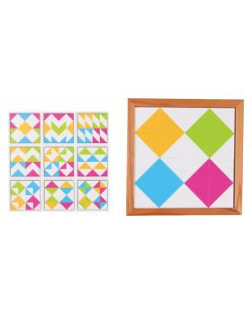 Modele jucăușe - triunghiuri